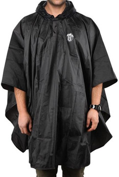 HUF Packable Poncho Black
