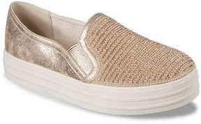 Skechers Women's Double Up Platform Slip-On Sneaker