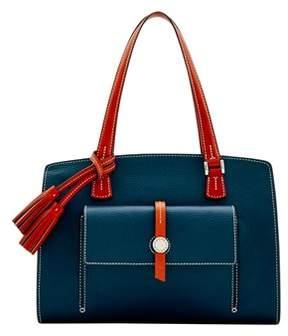 Dooney & Bourke Cambridge Shoulder Bag. - MIDNIGHT BLUE - STYLE
