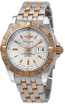 Breitling Galactic Automatic Chronometer Silver Dial Men's Watch