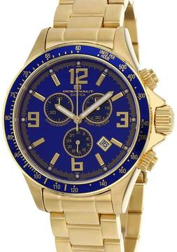 Oceanaut OC3328 Men's Baltica Gold Stainless Steel Watch with Chronograph
