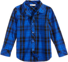 Epic Threads Plaid Cotton Shirt, Toddler Boys (2T-5T), Created for Macy's