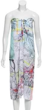 Clover Canyon Printed Midi Dress