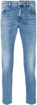 Entre Amis light-wash fitted jeans
