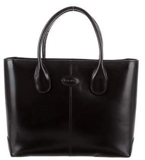 Tod's Smooth Leather Satchel
