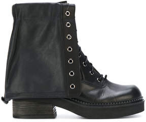 See by Chloe combat boots