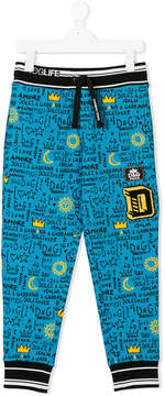 Dolce & Gabbana branded casual trousers