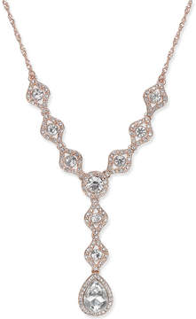 Charter Club Gold-Tone Crystal Y-Necklace, Created for Macy's