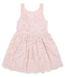 Ralph Lauren Toddler's, Little Girl's& Girl's Cutout Lace Dress