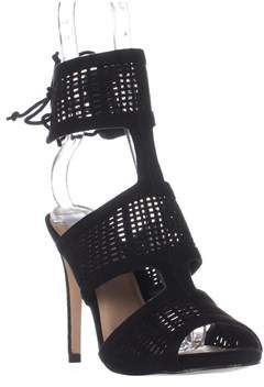 Call it SPRING Forcey Ankle-cuff Dress Sandals, Black.