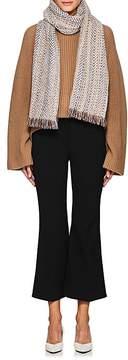 Barneys New York Women's Herringbone Cashmere-Blend Scarf