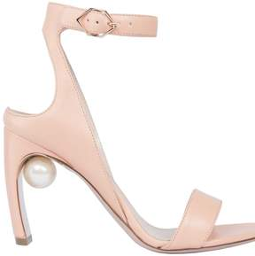 Nicholas Kirkwood Embellished Pearl Sandals