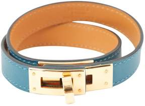 Hermes Kelly Double Tour leather bracelet