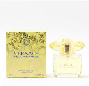 Versace Yellow Diamond Eau de Toilette Spray, 3 oz./ 90 mL