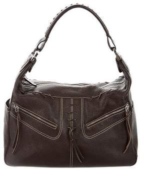 Tod's Textured Leather Shoulder Bag