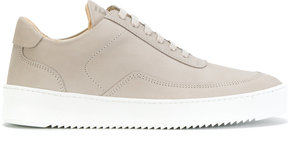 Filling Pieces hi-top lace up sneakers