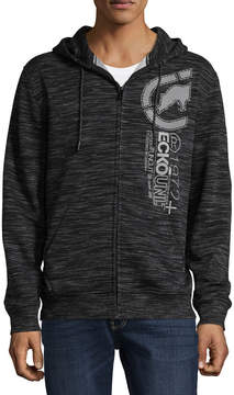 Ecko Unlimited Unltd Long Sleeve Fleece Pattern Hoodie