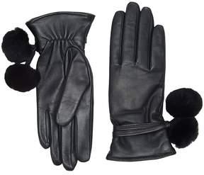 UGG Brita Smart Gloves with Poms Extreme Cold Weather Gloves