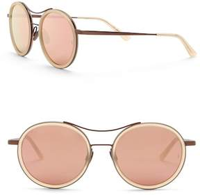 Cat Eye SUNDAY SOMEWHERE Roso 53mm Modified Aviator Sunglasses