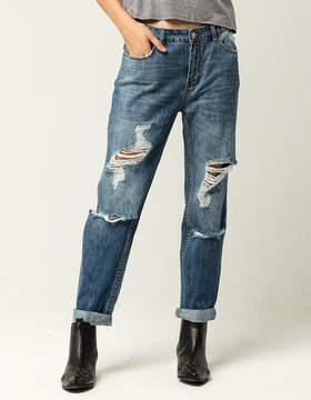 Billabong Hey Boy Womens Boyfriend Jeans