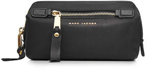 Marc Jacobs Fabric Pouch with Logo - BLACK - STYLE