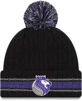 New Era Sacramento Kings Basic Chunky Pom Knit Hat