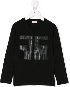 Elisabetta Franchi La Mia Bambina logo sweatshirt