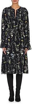 Altuzarra Women's Leighton Floral Silk Shirtdress