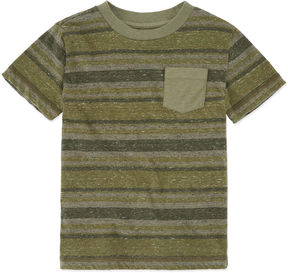 Arizona Striped Pocket T-Shirt - Preschool