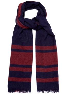 Brunello Cucinelli Oversized-check cashmere scarf