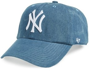 '47 Women's Clean Up Ny Yankees Baseball Cap - Blue