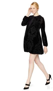 A Pea in the Pod Taylor Paisley Print Maternity Dress