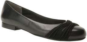 Ros Hommerson Black Onya Leather Flat - Women