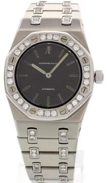Audemars Piguet Royal Oak Stainless Steel Diamonds Unisex Watch