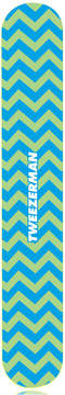 Tweezerman Mix & Match Chevron Filemate - Blue