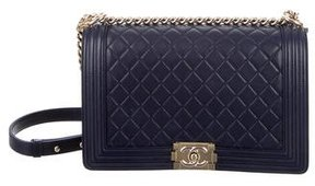 Chanel Quilted New Medium Boy Bag