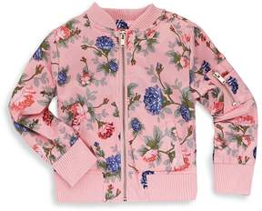 Urban Republic Girl's Printed Bomber Jacket