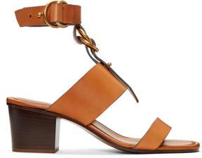 Chloé Tan Kingsley Sandals