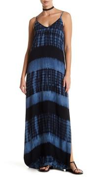 Fifteen-Twenty Fifteen Twenty Double V Tie-Dye Maxi Dress