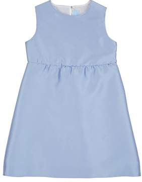 Lanvin KIDS' SPLIT-BACK GAZAR A-LINE DRESS