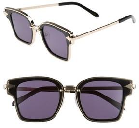 Karen Walker Women's Rebellion 49Mm Sunglasses - Black