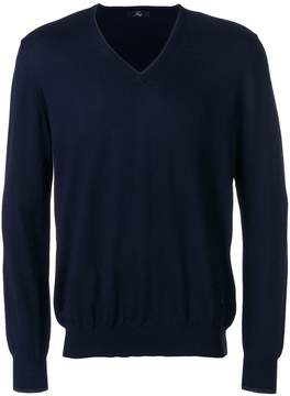 Fay elbow patch jumper