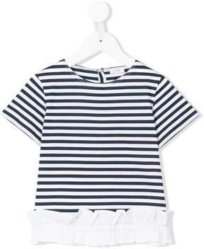 Il Gufo striped short-sleeve top