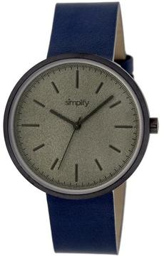 Simplify The 3000 Collection SIM3005 Unisex Watch with Leather Strap