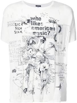 R 13 printed T-shirt