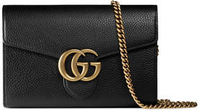 GG Marmont leather mini chain bag