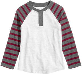 Epic Threads Striped Henley, Toddler Boys (2T-5T), Created for Macy's