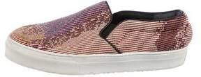 Celine Jacquard Slip-On Sneakers