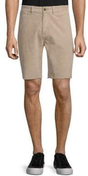 Michael Bastian Woven Cut-Off Shorts