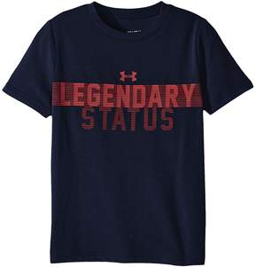 Under Armour Kids Legendary Status Short Sleeve Tee Boy's T Shirt